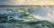 Louis Remy Mignot Niagara oil