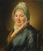 Ludger tom Ring the Younger Portrait of Christina Elisabeth Hjorth oil