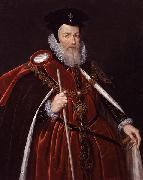 Marcus Gheeraerts William Cecil, china oil painting reproduction