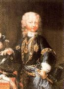 Maria Giovanna Clementi Portrait of Victor Amadeus, Duke of Savoy later King of Sardinia oil on canvas