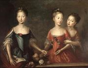 Martin Maingaud The daughters of George II china oil painting artist