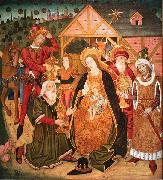 Master of the Prelate Mur The Adoration of the Magi oil painting reproduction