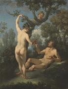 Michele Rocca Fall of Man oil