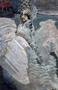 Mikhail Vrubel Swan princess oil painting reproduction