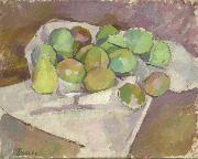 Patrick Henry Bruce Plums oil on canvas
