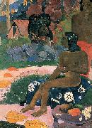 Paul Gauguin Ma ohi: Vairumati tei oa oil painting reproduction