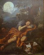 Pier Francesco Mola Diana and Endymion oil