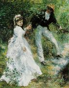 Pierre-Auguste Renoir La Promenade oil painting reproduction