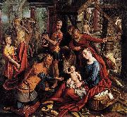Pieter Aertsen The adoration of the Magi oil painting reproduction
