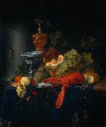 Pieter de Ring Still Life with a Golden Goblet oil
