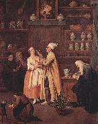 Pietro Longhi Der Apotheker oil painting reproduction