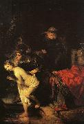 REMBRANDT Harmenszoon van Rijn Susanna and the Elders oil painting reproduction