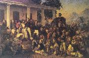Raden Saleh Diponegoro arrest china oil painting reproduction