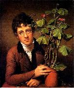 Rembrandt Peale Rubens Peale with a Geranium oil painting reproduction