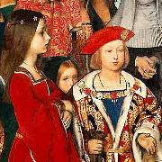 Richard Burchett the future Henry VIII oil