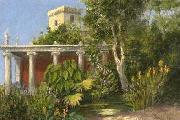 Ridolfo Schadow Garten in Alexandria oil