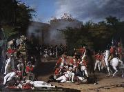 Robert Home The Death of Colonel Moorhouse at the Storming of the Pettah Gate of Bangalore oil