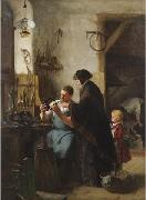 Robert Koehler The Old Sewing Machine oil
