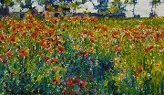 Robert William Vonnoh Poppies in France oil