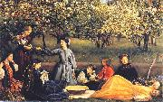 Sir John Everett Millais Spring oil painting reproduction