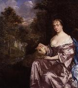 Sir Peter Lely Portrait of an unknown woman oil painting reproduction