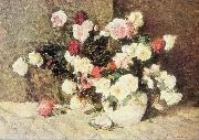 Stefan Luchian Roses oil painting reproduction