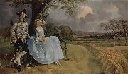 Thomas Gainsborough Mr and Mrs Andrews oil painting reproduction