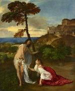 Titian Noli me tangere china oil painting reproduction