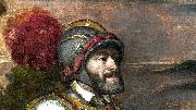Titian Head painting