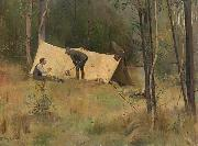 Tom roberts The Artist Camp china oil painting artist