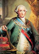 Vicente Lopez y Portana Portrait of Charles IV of Spain oil on canvas