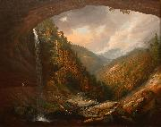 Wall, William Guy Cauterskill Falls on the Catskill Mountains oil on canvas