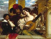 William Etty Duet oil painting reproduction