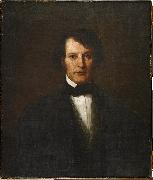 William Henry Furness Portrait of Massachusetts politician oil on canvas