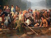 William Ranney Marion Crossing the Pee Dee oil