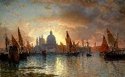 William Stanley Haseltine Santa Maria della Salute oil painting reproduction