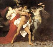 William-Adolphe Bouguereau The Remorse of Orestes or Orestes Pursued by the Furies oil on canvas