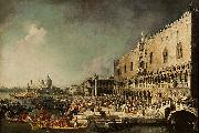antonio canaletto Vincent Languet oil on canvas