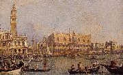 antonio canaletto View of the Ducal Palace in Venice oil on canvas