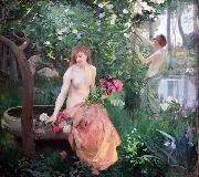 emile-Rene Menard Spring oil painting reproduction
