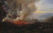 johann christian Claussen Dahl Eruption of Vesuvius oil on canvas