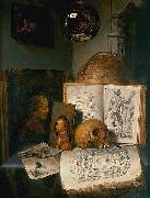 simon luttichuys Vanitas still life with skull china oil painting artist