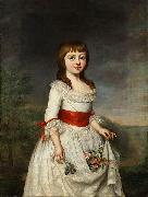 unknow artist Portrait of Duchess Charlotte Friederike of Mecklenburg as a child oil painting reproduction