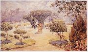unknow artist landscape oil painting reproduction