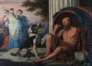 unknow artist Oil painting of Diogenes by Pugons china oil painting reproduction
