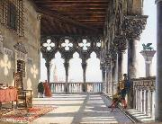 unknow artist Galleria del Palazzo Ducale china oil painting reproduction