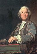 unknow artist Portrait of Christoph Willibald von Gluck oil painting reproduction