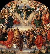 Albrecht Durer The Adoration of the Trinity oil painting reproduction
