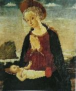 Alesso Baldovinetti Virgin and Child china oil painting artist