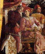 Andrea Mantegna The Court of Gonzaga oil painting reproduction